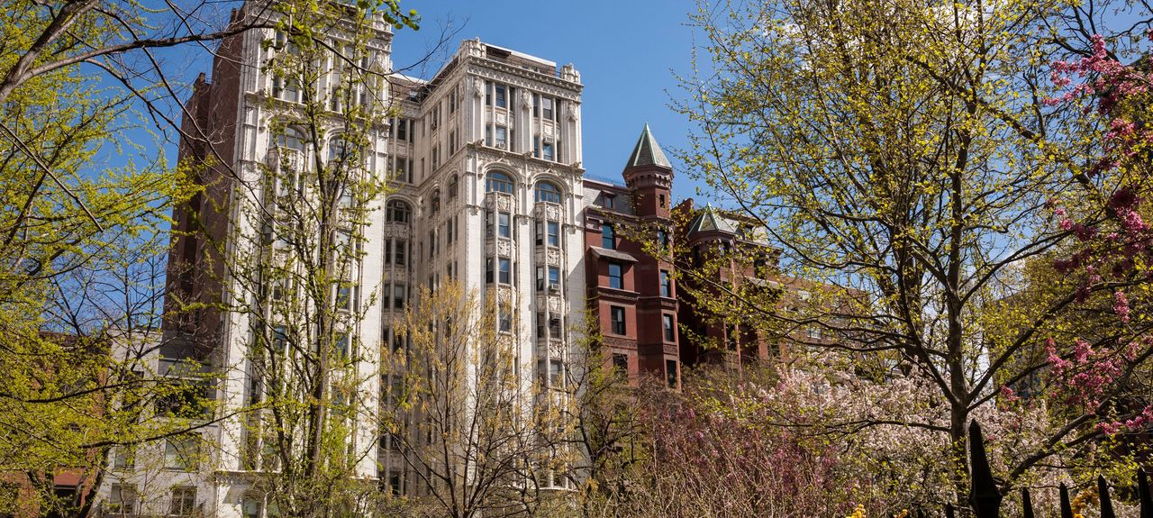 Gramercy Park, New York, New York, États-Unis d'Amérique