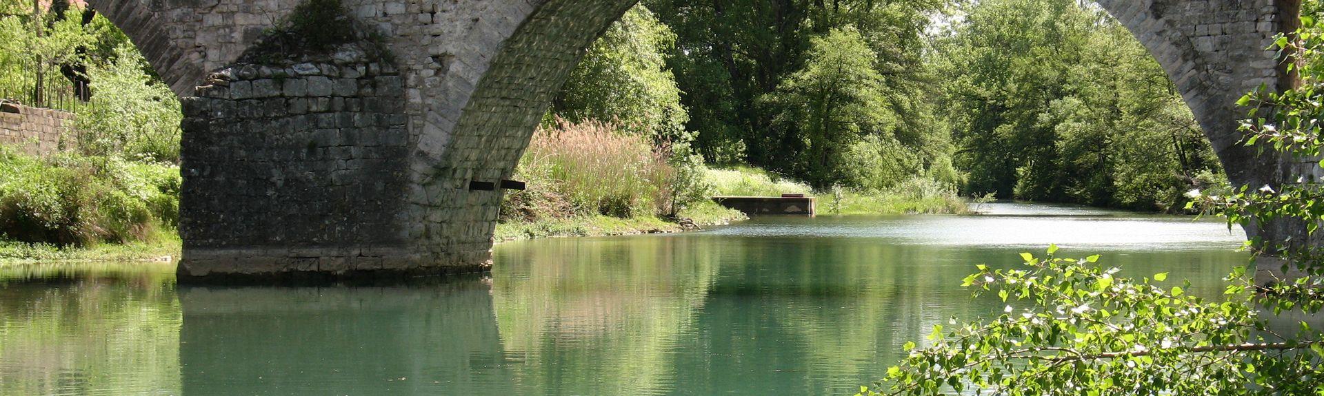 Ribaute-les-Tavernes, Gård, Francja