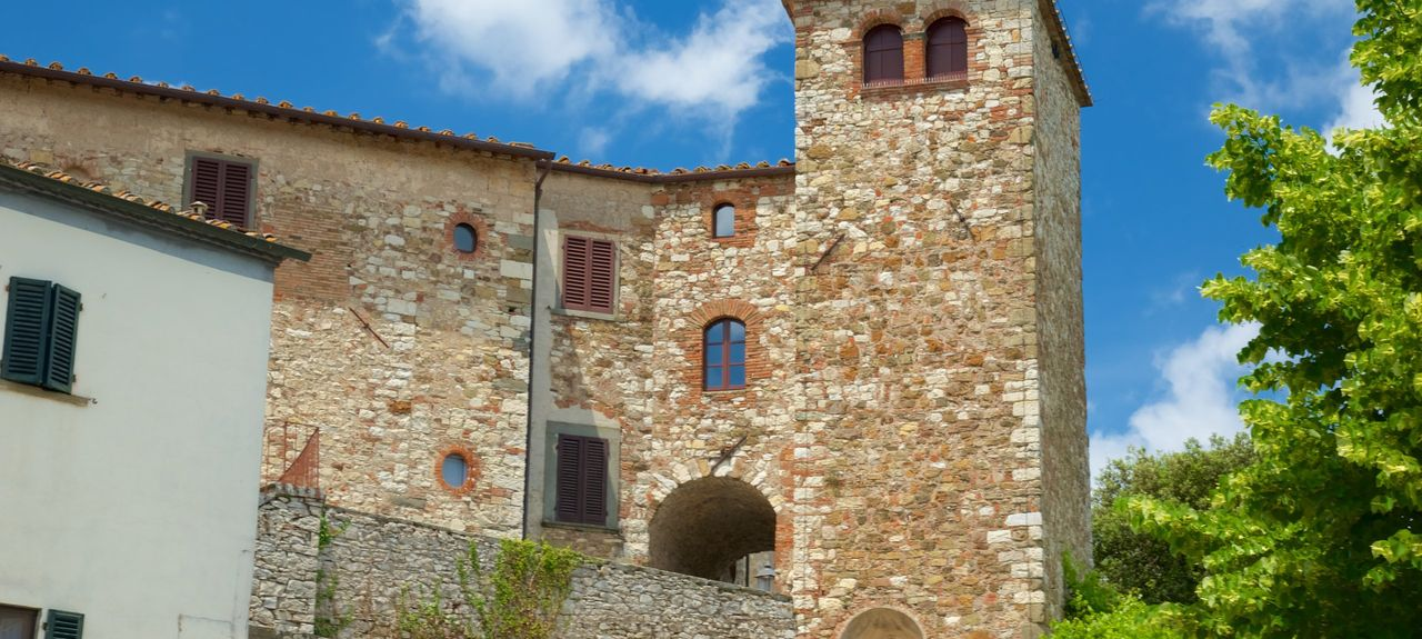 Monteriggioni, Siena, Italy