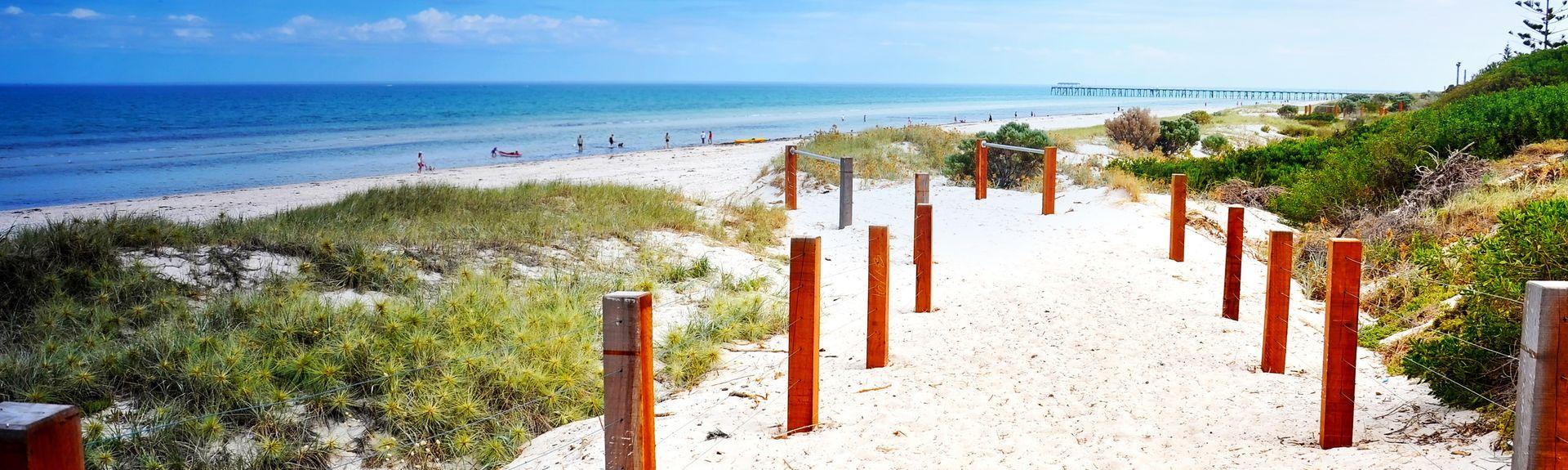 Henley Beach, Adelaide, South Australia/Südaustralien, Australien