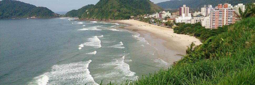 Praia do Guaíuba, Guarujá, São Paulo, Brasil