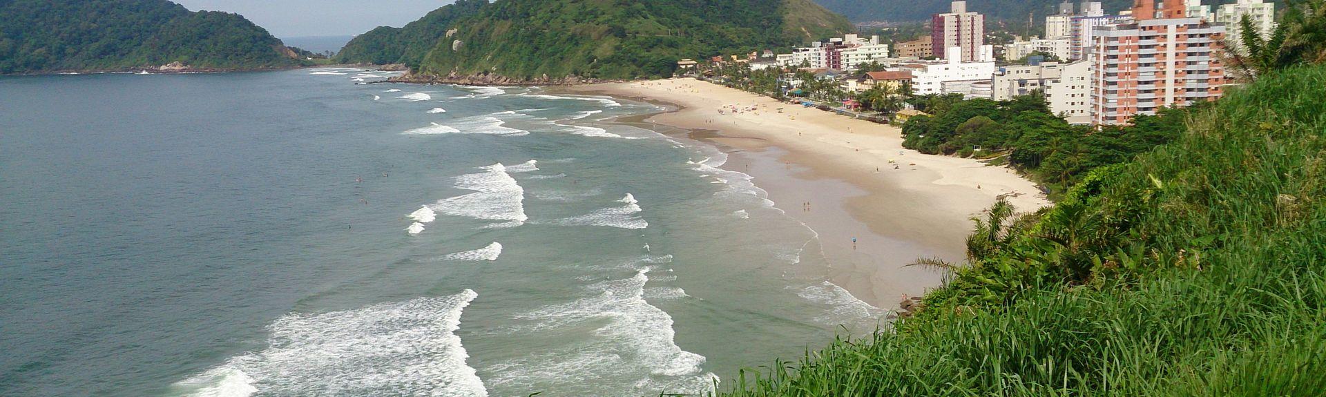 Praia do Guaíuba, Guarujá - SP, Brazil