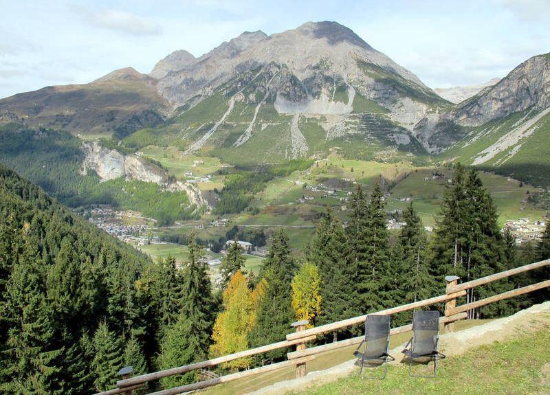 San Rocco Ski Lift, Livigno, Lombardy, Italy