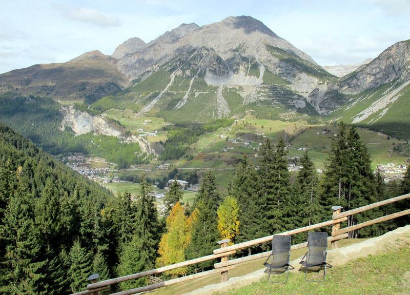 Livigno skidområde, Livigno, Lombardiet, Italien
