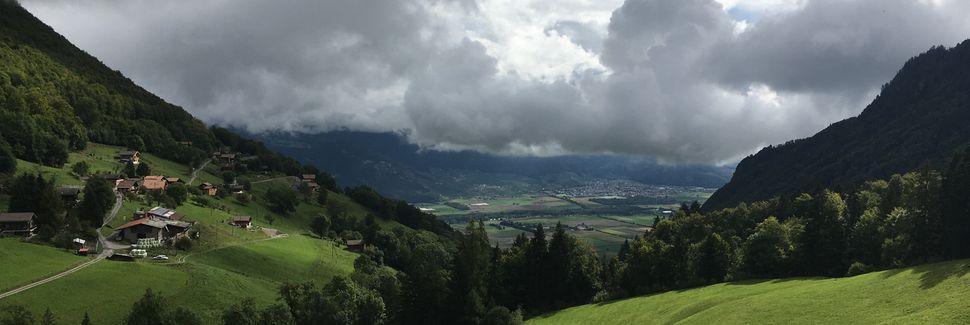 Renens Station, Renens, Kanton Vaud, Schweiz