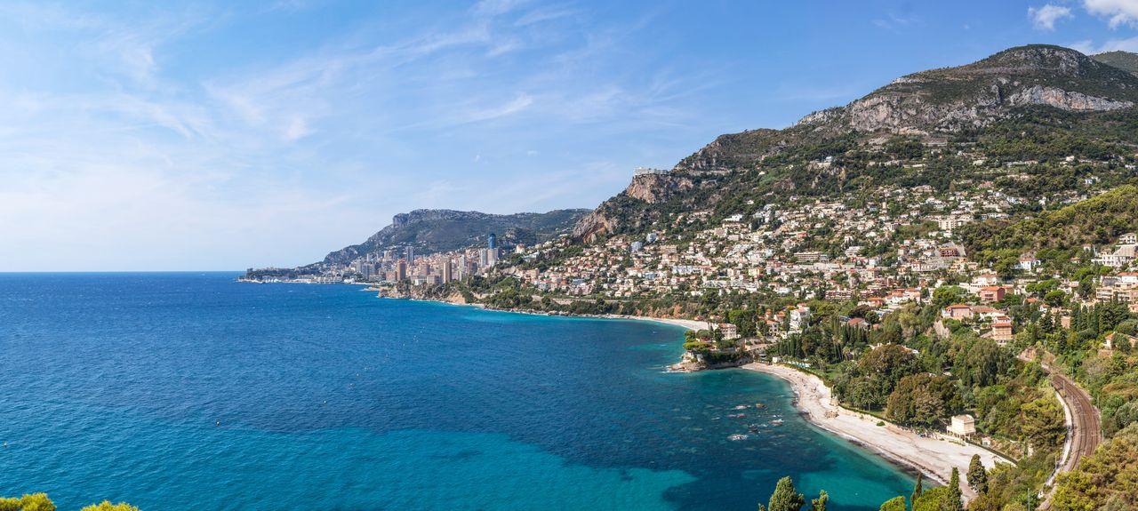 Roquebrune-Cap-Martin, Provence-Alpes-Côte d'Azur, Frankreich