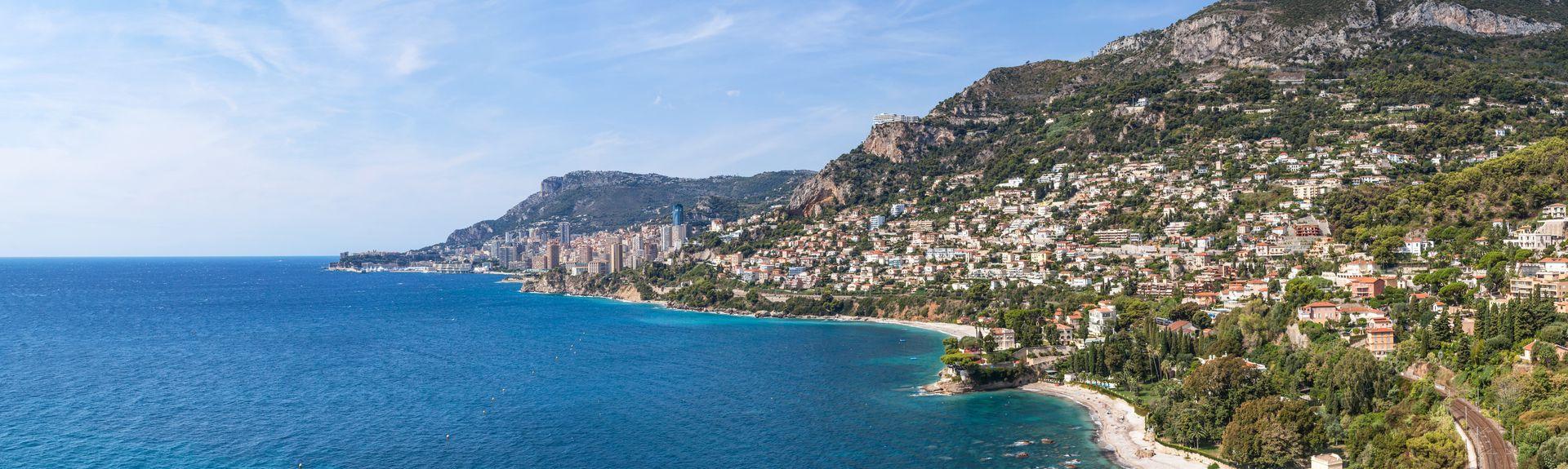 Roquebrune-Cap-Martin, Provence-Alpes-Côte d'Azur, Frankrike