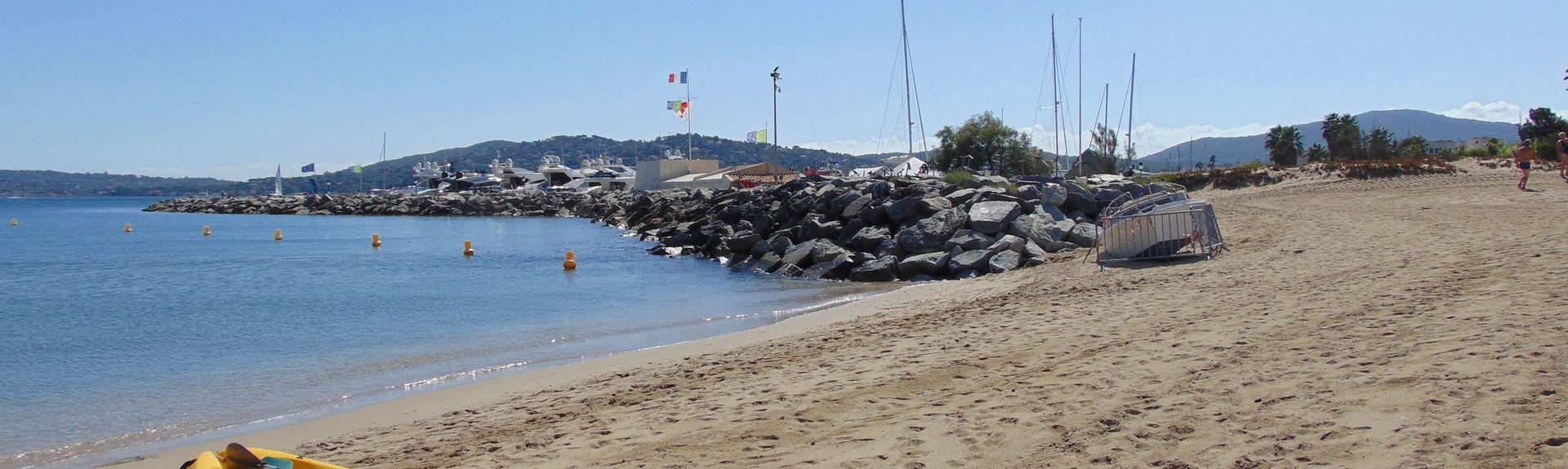 La Croisette Beach, Sainte-Maxime, France