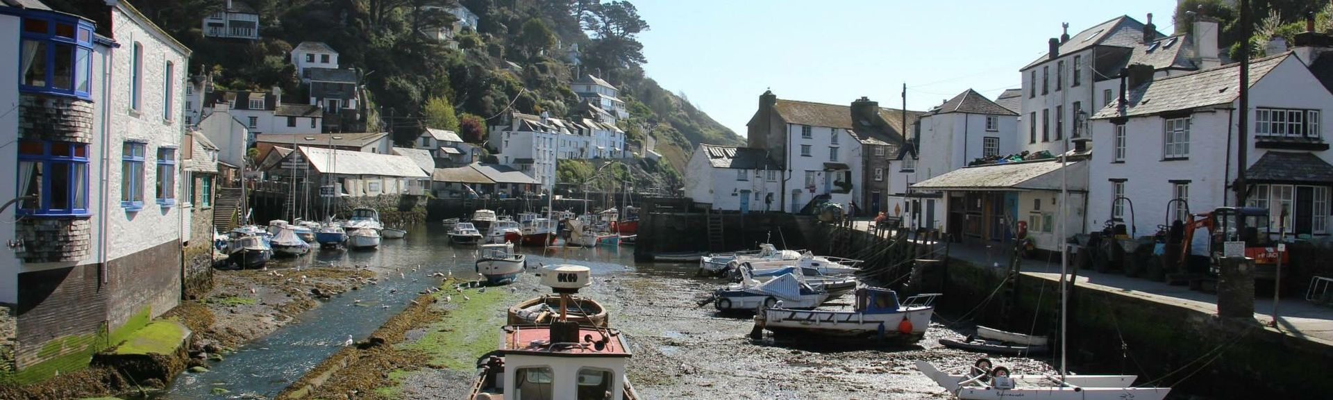 Polperro, Cornwall, UK