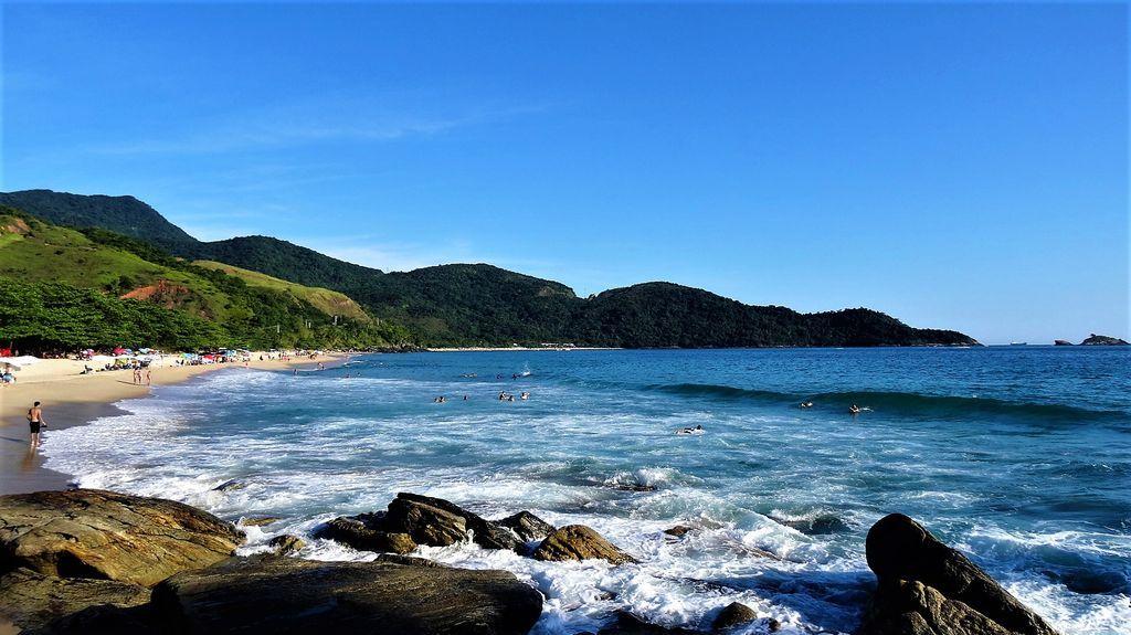 Praia do Paúba, São Sebastião - SP, Brazil