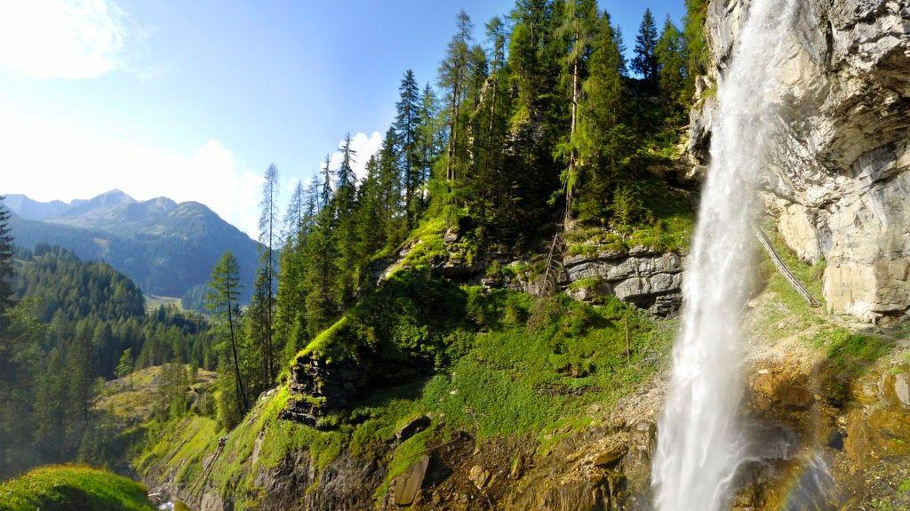 Planai 3er -hiihtohissi, Schladming, Steiermark, Itävalta