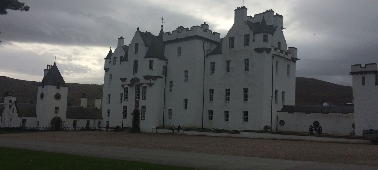 Blair Castle, Pitlochry, Scotland, UK