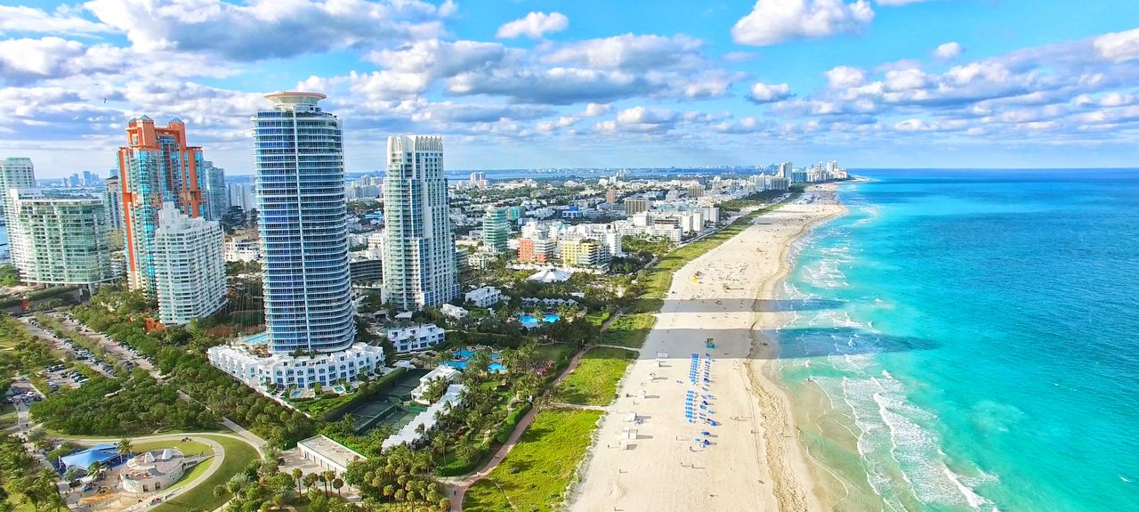 South Beach, Miami Beach, Floride, États-Unis d'Amérique