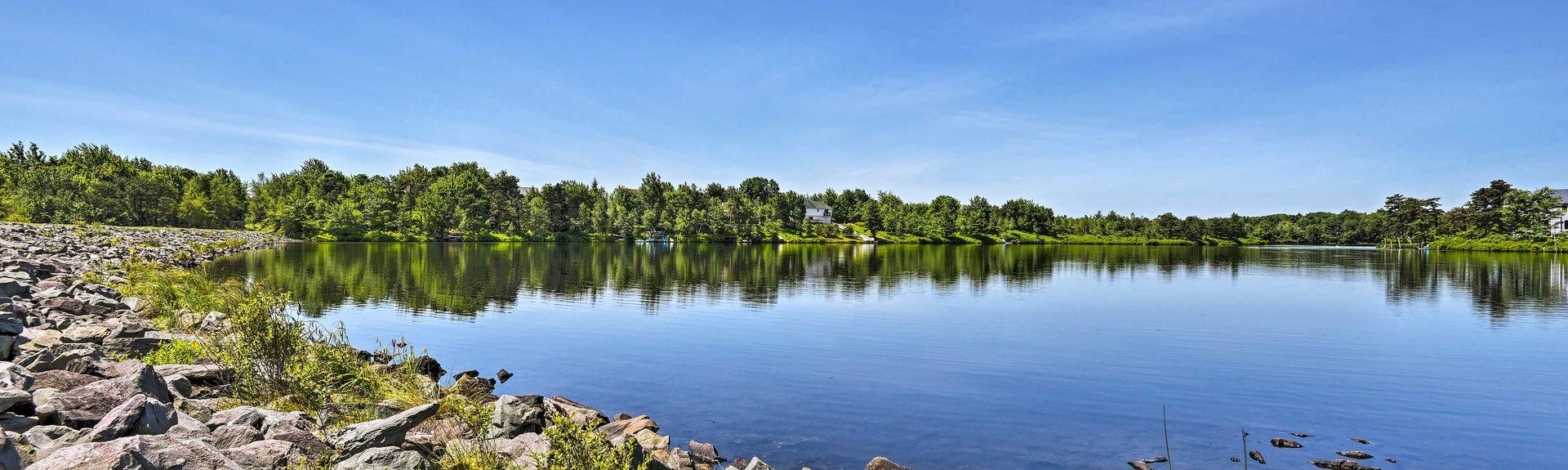 Beltzville Lake, Pennsylvania, USA