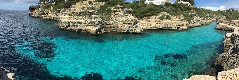 Cala en Brut, Cala en Blanes, Balearische Inseln, Spanien