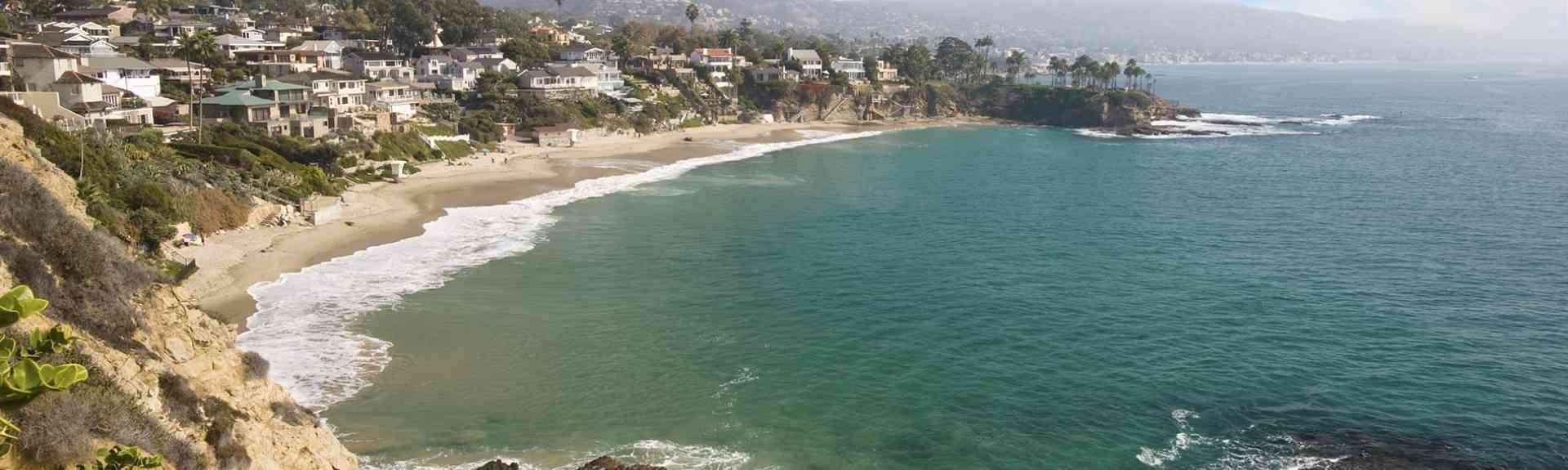Woods Cove, Laguna Beach, California, United States of America