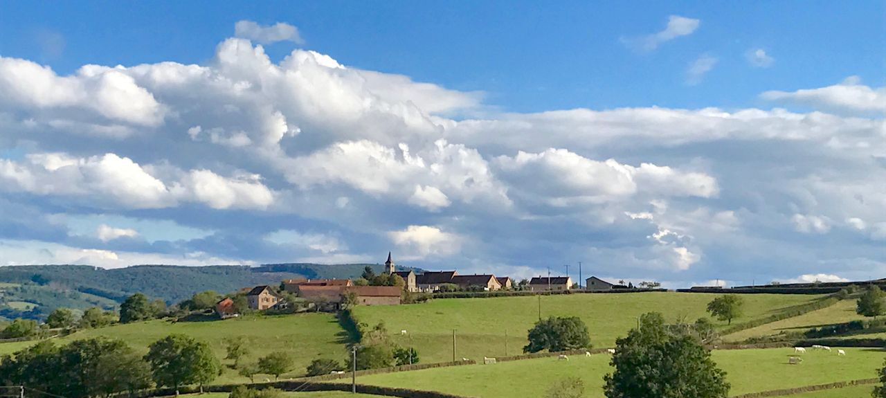 Martigny-le-Comte, Bourgogne-Franche-Comté, Frankreich