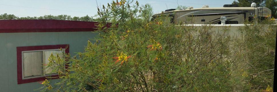 Stadtzentrum von Arizola, Eloy, Arizona, Vereinigte Staaten