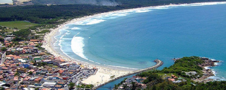 Spiaggia di Morro das Pedras, Florianopolis, Santa Catarina, Brasile