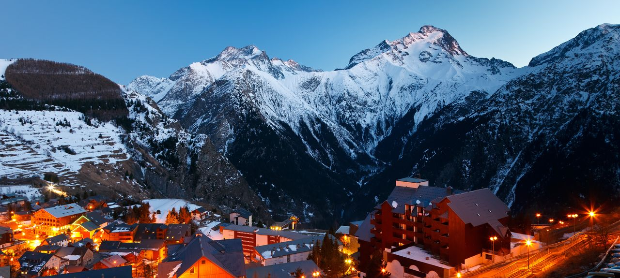 Les Deux Alpes, Mont-de-Lans, France