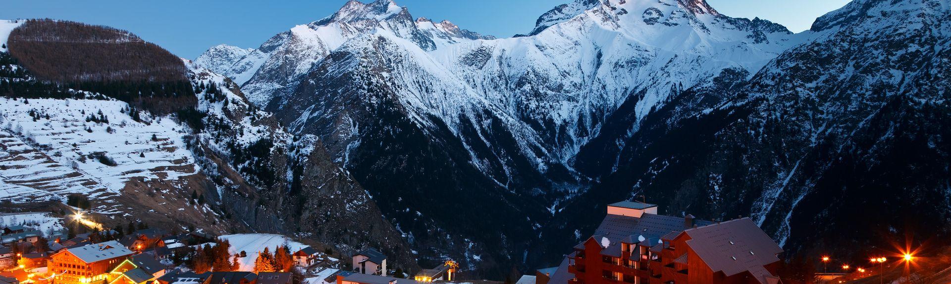 Les Deux Alpes, Auvergne-Rhône-Alpes, Frankreich