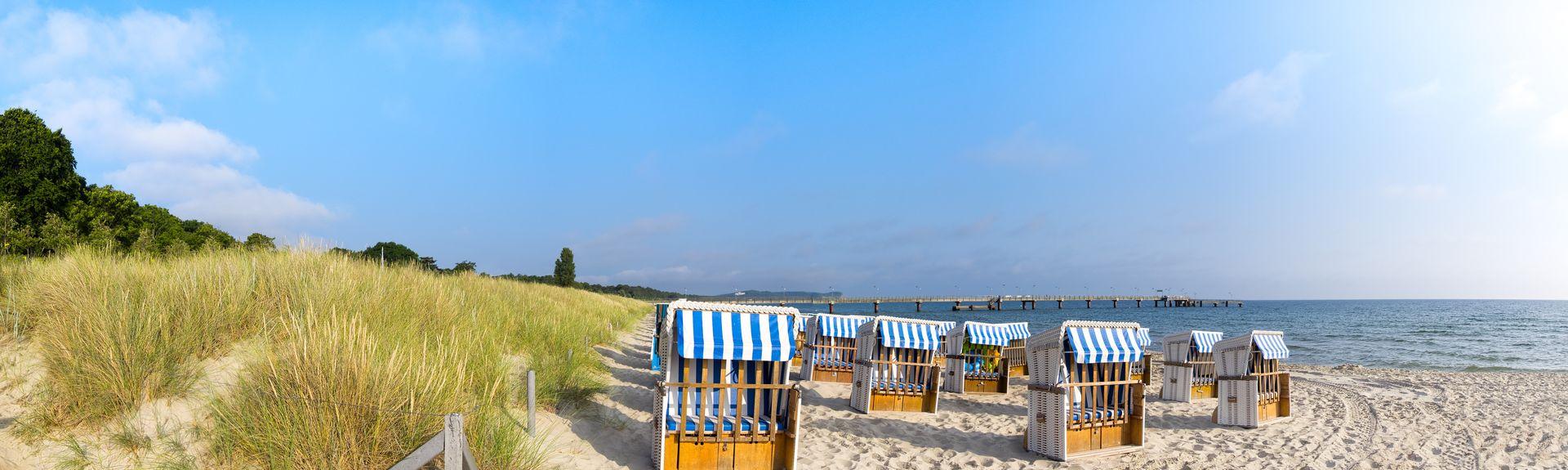 Ostseebad Baabe, Mecklenburg-Vorpommern, Deutschland