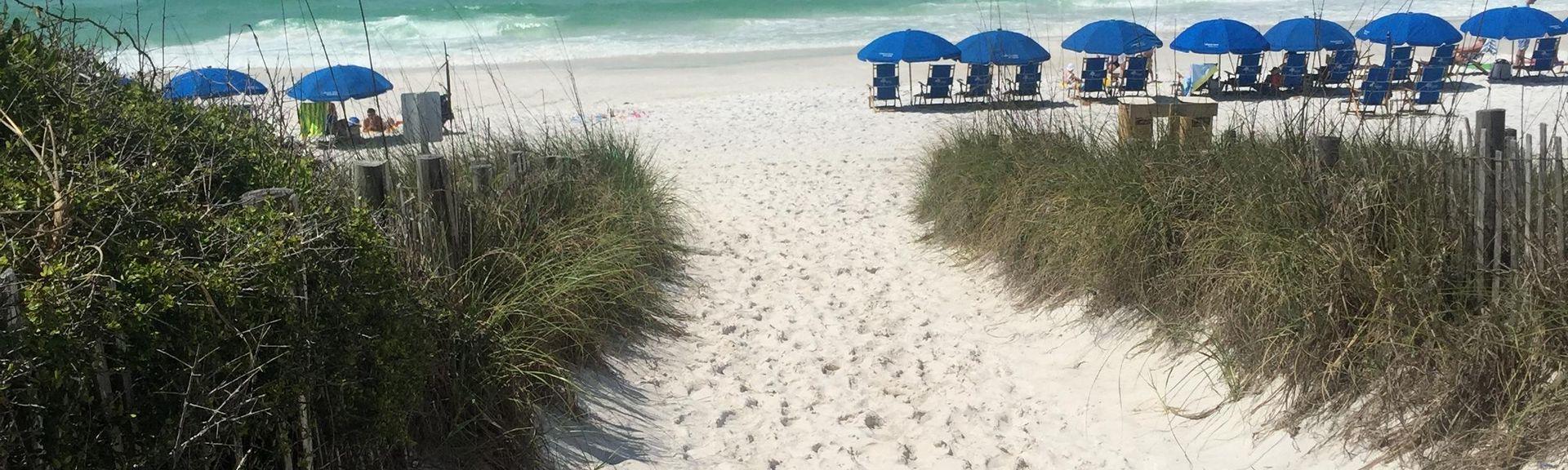 Sugarwood Beach, Seagrove Beach, FL, USA