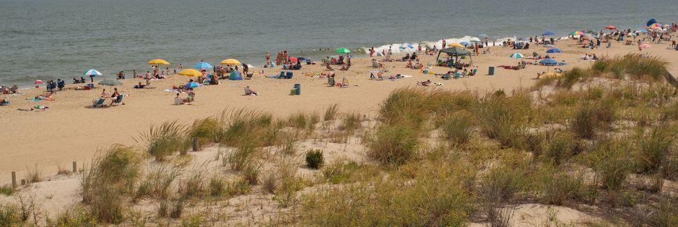 Maryland Beach Us Vacation Als