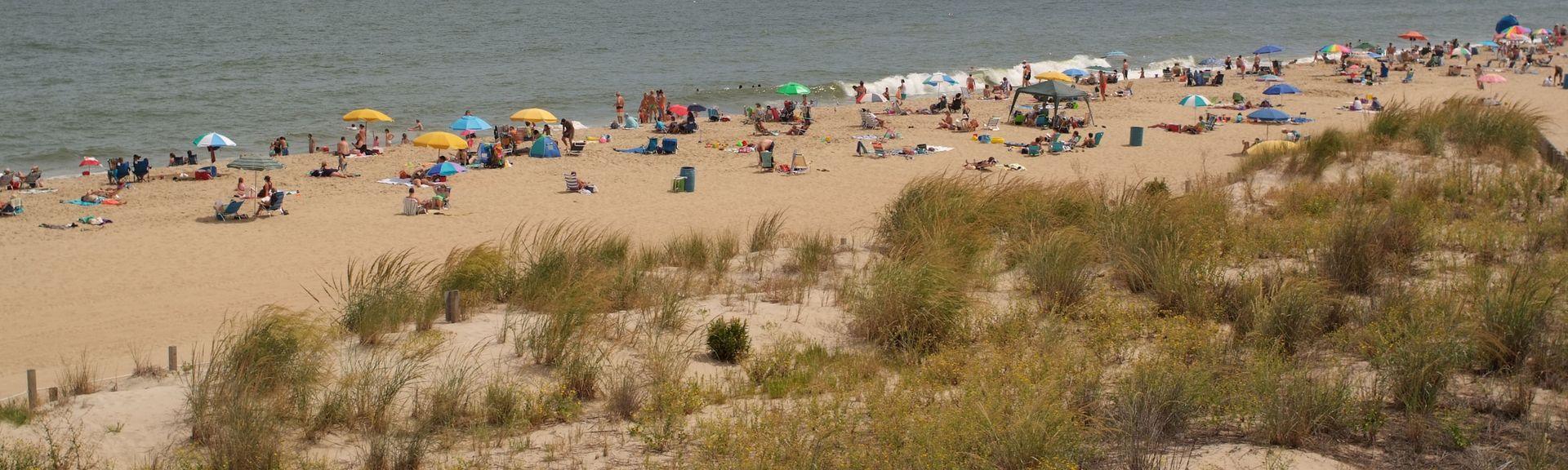 Maryland Beach, Ocean City, MD, USA