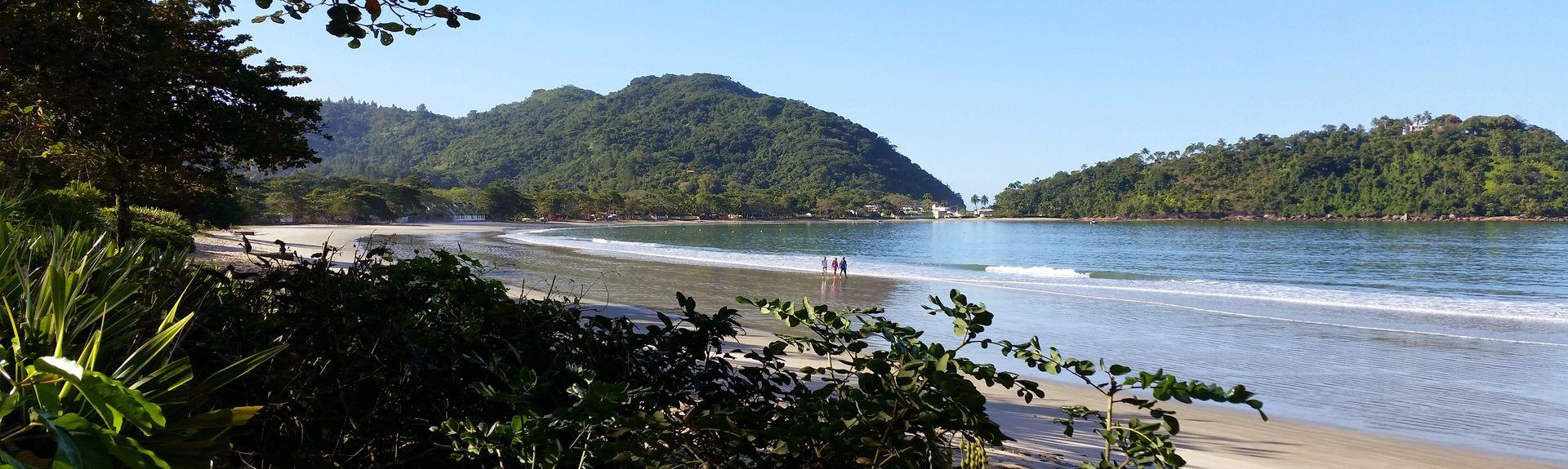 Praia do Lázaro, Ubatuba - SP, Brazil