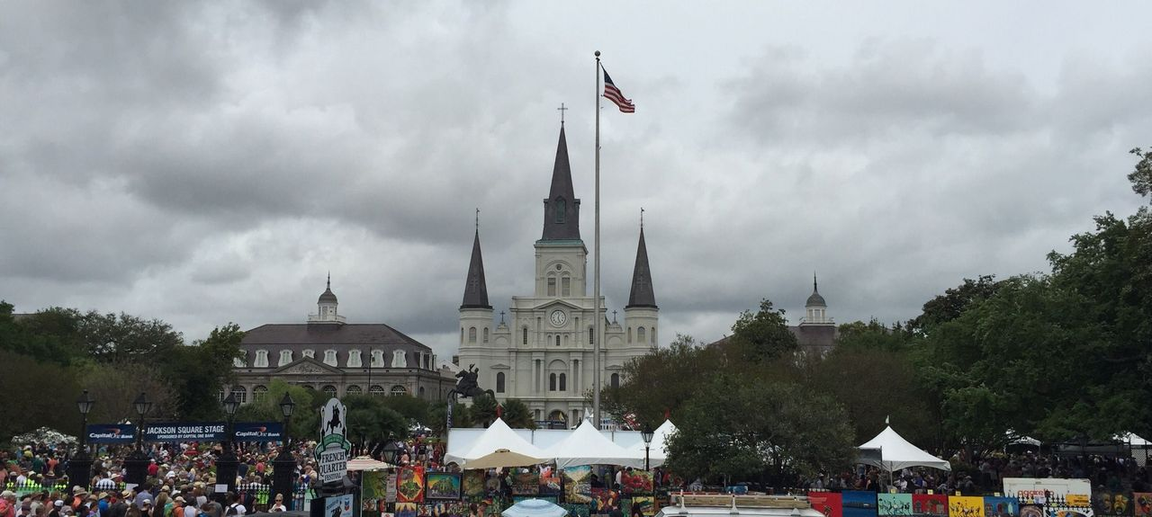 Jackson Square, New Orleans, LA, USA