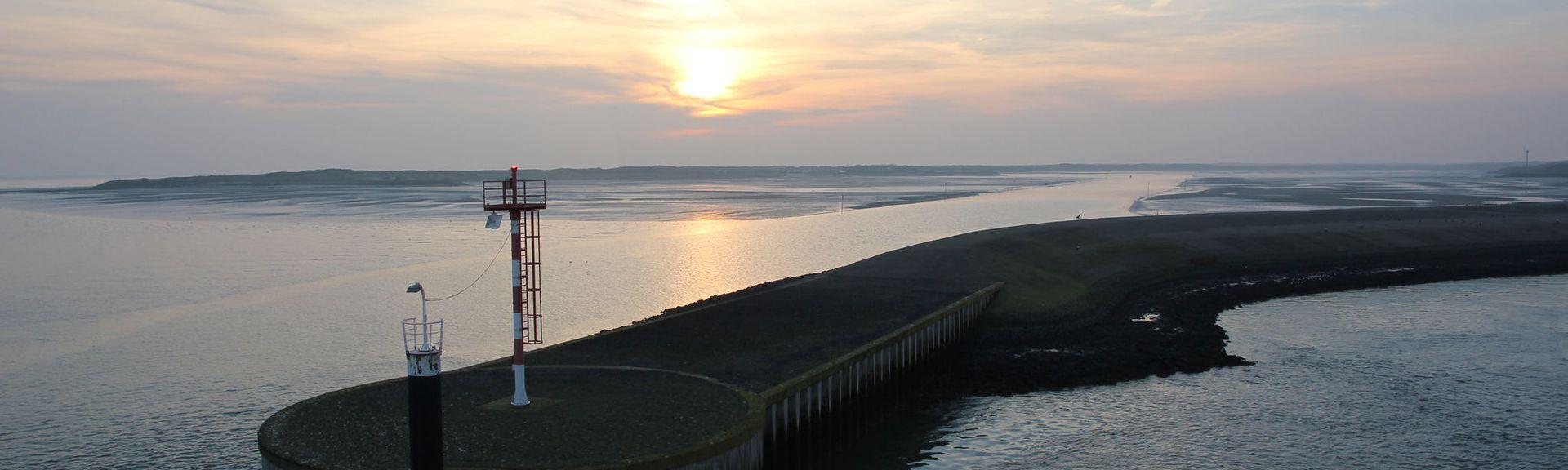 De Koog strand, De Koog, Noord-Holland, Nederland