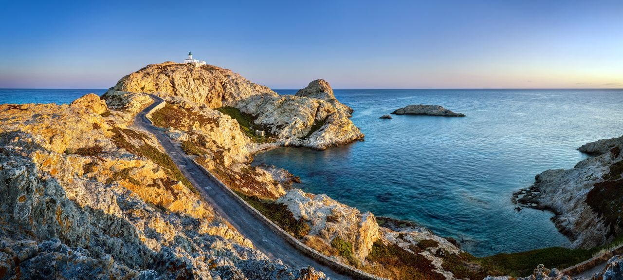 L'Île-Rousse, Corse, France