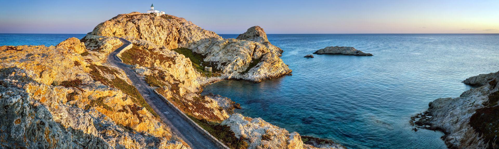 L'Île-Rousse, Haute-Corse, France