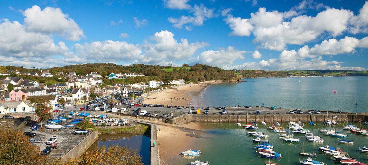 Saundersfoot, Pembrokeshire, UK