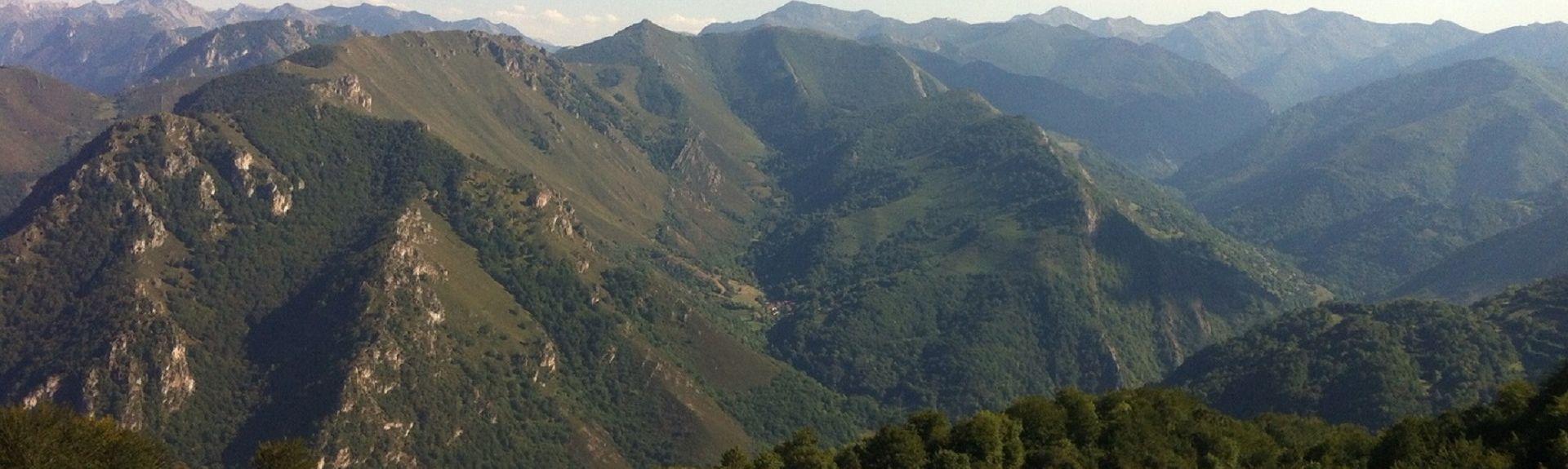 Oviedo (OVD-Asturien), Castrillón, Asturien, Spanien