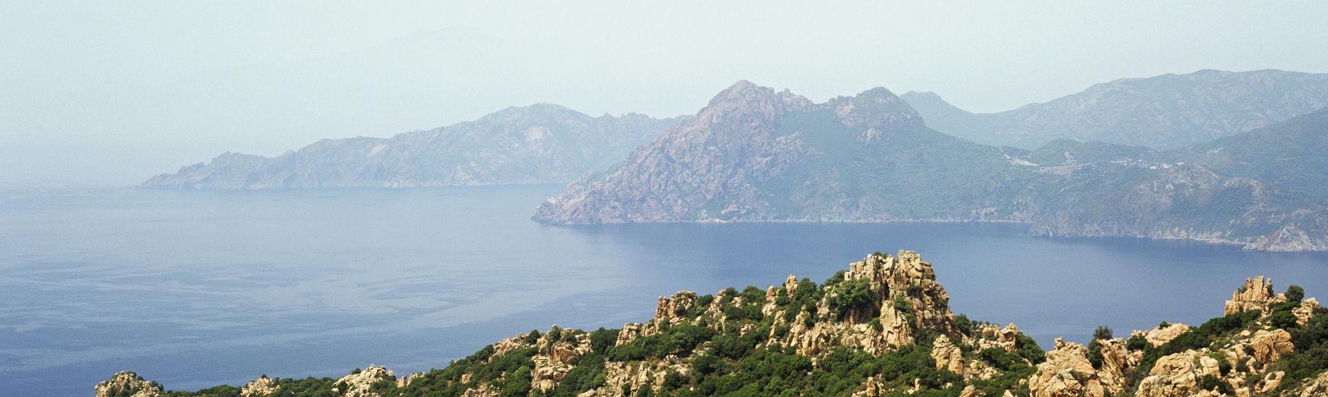 Piana, Corsica, Francia