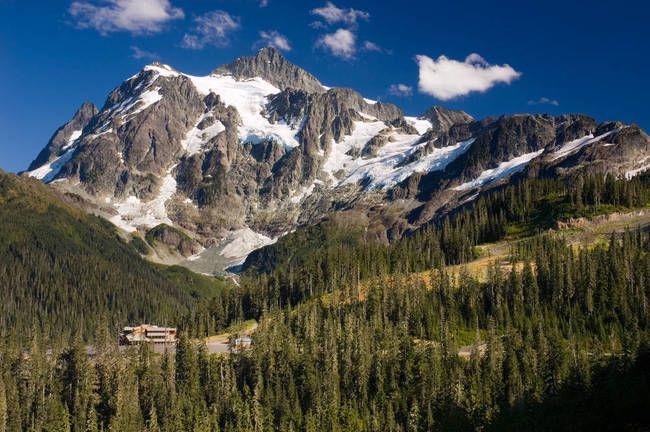 Mount Baker Ski Area, Maple Falls, WA, USA