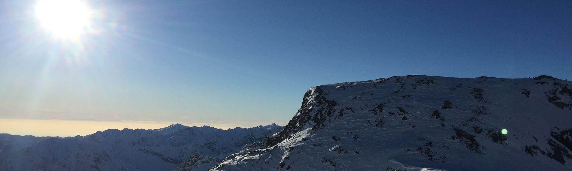 Issime, Valle d'Aosta, Italia