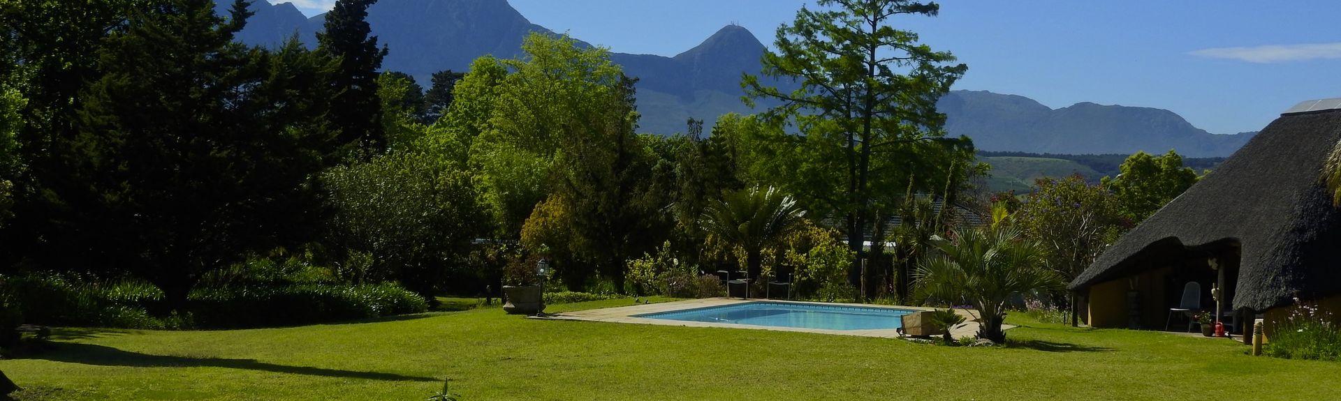 Tranvía del vino de Franschhoek, Franschhoek, El Cabo Occidental, Sudáfrica