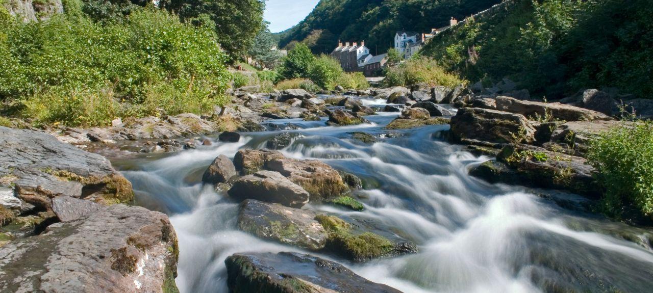 Porlock Weir, England, Großbritannien