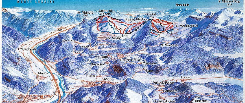Nago-Torbole, Trentino-Etelä-Tiroli, Italia