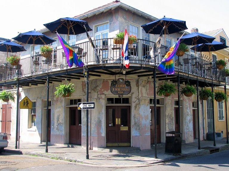 Bourbon Street, New Orleans, Louisiana, Stati Uniti d'America