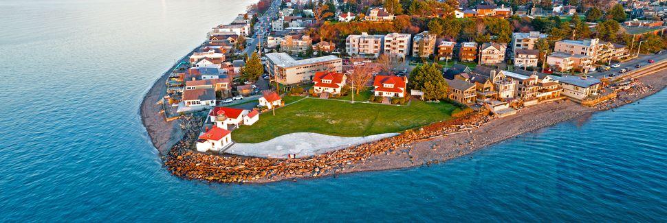 Παραλία Alki, Σιάτλ, Ουάσινγκτον, Ηνωμένες Πολιτείες