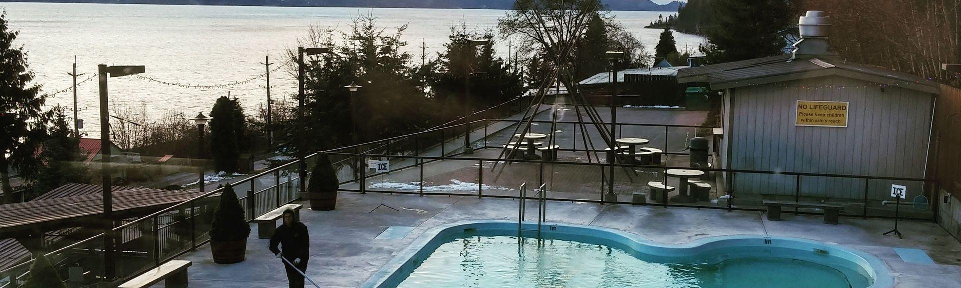 Ainsworth Hot Springs, BC, Canada
