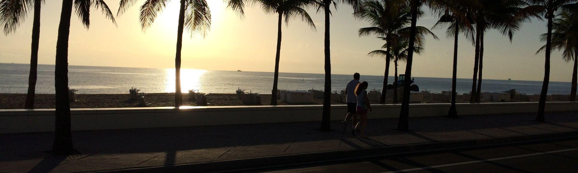 Central Beach, Fort Lauderdale, Floride, États-Unis d'Amérique