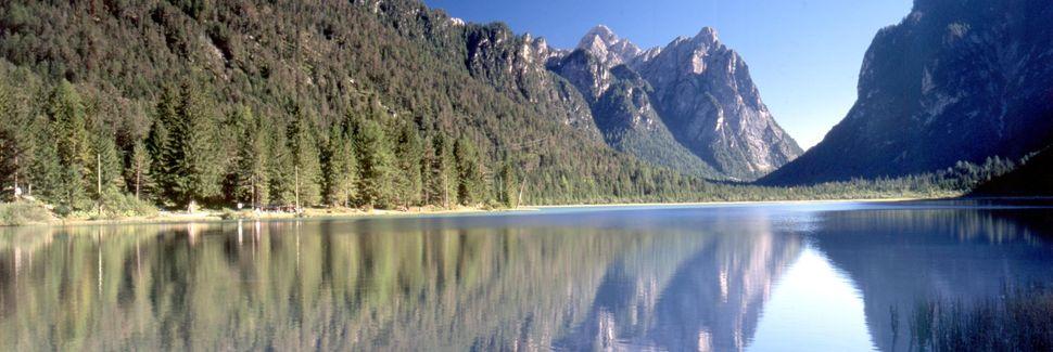 Lago di Braies, Braies, Trentino-Alto Adige, Italia
