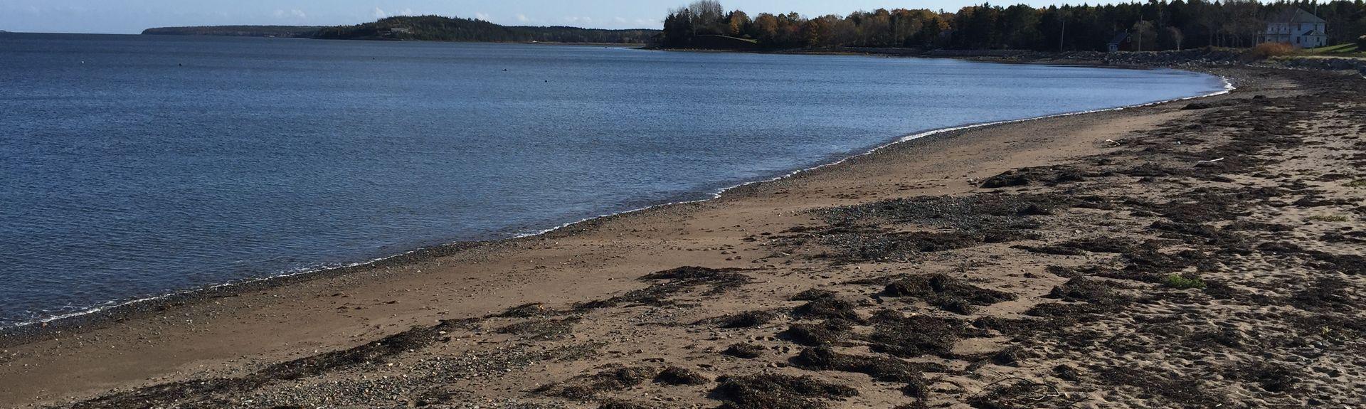 Plage de Hirtle, Kingsburg, Nouvelle-Écosse, Canada