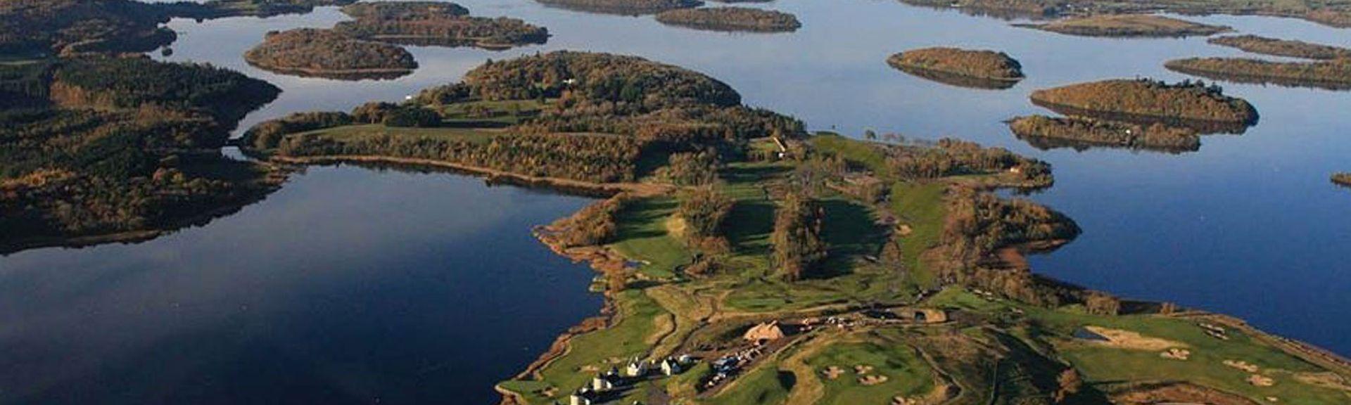 Club de golf Fintona, Omagh, Irlande du Nord, Royaume-Uni