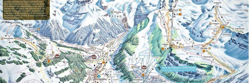 Engelberg Abbedi, Engelberg, Obwalden, Schweiz